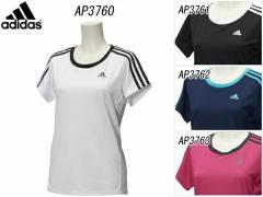 アディダス:【レディース】W 定番UV 3S Tシャツ半袖【adidas スポーツ トレーニング 半袖 ウェア】