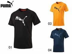 プーマ:【メンズ】logo SS Tee【PUMA スポーツ トレーニング ウェア Tシャツ 半袖 アウトレット セール】
