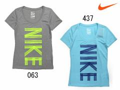 ナイキ:【レディース】レジェンド スクープ Tシャツ【NIKE スポーツ フィットネス 半袖 Tシャツ】