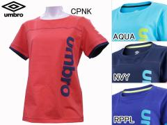アンブロ:【レディース】グラフィックコットンシャツ【UMBRO サッカー 半袖Tシャツ トレーニング アウトレット セール】