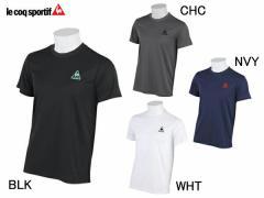 ルコック:【メンズ】半袖シャツ【le coq sportif スポーツ トレーニング Tシャツ 半袖】