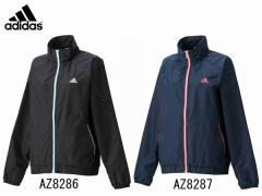 アディダス:【レディース】定番 パイピング ウィンドブレーカー ジャケット【adidas スポーツ トレーニング ジャケット ウエア】