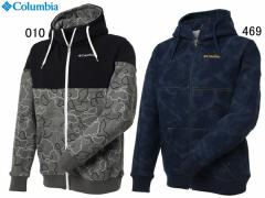 コロンビア:【メンズ】ビッグブルーパスパターンドフルジップフーディー【Columbia Big Blue Pass Patterned Full Zip Hoodie パーカー