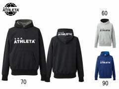アスレタ:【メンズ&レディース】防風ウォームスウェットパーカー【ATHLETA サッカー フットサル スウェット パーカー】