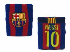 ジャスティス:FCバルセロナ リストバンド 10番 メッシ【JUSTICE サッカー クラブチーム オフィシャル グッズ】