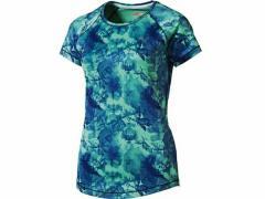 プーマ:【レディース】ESS グラフィック SS TEE【PUMA スポーツ フィットネス Tシャツ 半袖】