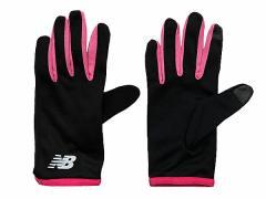 ニューバランス:【レディース】ランニンググローブ【NEW BALANCE ジョギング マラソン 手袋 ウェアアクセサリー アウトレット セール】