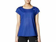 ミズノ:【レディース】Tシャツ【MIZUNO スポーツ フィットネス 半袖 Tシャツ】