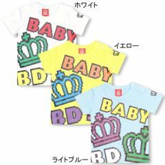 アウトレットSALE50%OFF★デジタルロゴTシャツ-ベビーサイズベビードールBABYDOLL-6360B