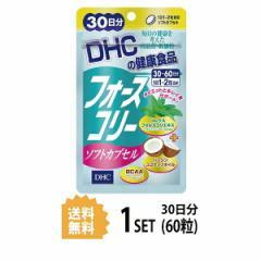 【送料無料】 フォースコリー ソフトカプセル 30日分 (60粒) ディーエイチシー