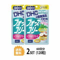【送料無料】【2パック】 フォースコリー ソフトカプセル 30日分×2パック (120粒) ディーエイチシー