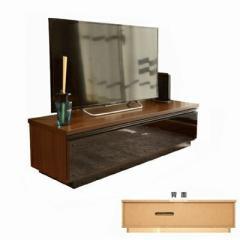 国産 完成品  サタン 120ローボード ブラウン TVボード 120cm