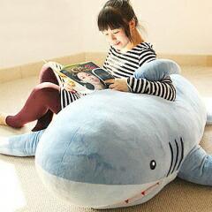 送料無料 180cm 手触りふわふわ サメ ぬいぐるみ ...