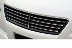 LX-MODE LXモード エアロ 【120系マークX】 LXブラックマークレスフロントグリルタイプB (艶有りブラック塗装済み)
