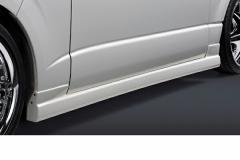 SilkBlaze シルクブレイズ エアロ【200系ハイエース 1型/2型 標準車】サイドステップ(塗装済み)