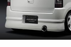 SilkBlaze シルクブレイズ エアロワゴンR(MH21S)リアスポイラー(塗装済み/26U スペリアホワイト)
