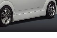 SilkBlaze シルクブレイズ エアロスバル R2サイドステップ(塗装済み)