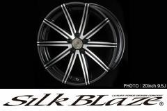 SilkBlaze AVEL 【20系アルファード/ヴェルファイア専用】 アルミホイール4本セット [20inch 8.5J×2/9.5J×2] 【送料無料】