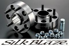 SilkBlaze シルクブレイズハブリング付ワイドトレッドスペーサーP.C.D.114.3 [5H] 27mm (P1.5)【20系アルファード・ヴェルファイア】[前