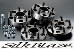 SilkBlaze シルクブレイズハブリング付ワイドトレッドスペーサーP.C.D. 114.3 [5H]16mm/27mm(P1.5)【20系アルファード/ヴェルファイア】[