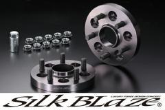 SilkBlaze シルクブレイズ【30系プリウス】 リア用ハブリング付ワイドトレッドスペーサーP.C.D.100-5H-17mm(P1.5)