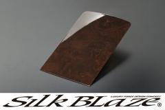 SilkBlaze シルクブレイズ超同色フロントテーブルパネル[ポプラ調茶木目]20系アルファード/ヴェルファイア 後期S/Zグレード