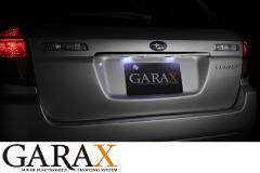GARAXギャラクスBPレガシィツーリングワゴン LEDナンバーランプ
