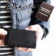 ポイント10倍 Dakota ダコタ ブラックレーベル BLACK LABEL  名刺入れ リバーII カードケース 625706