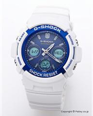 カシオ 腕時計 G-SHOCK (ジーショック) AWG-M100SWB-7A 電波ソーラー(海外モデル)