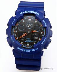 カシオ 腕時計 G-SHOCK (ジーショック) GA-100L-2A (海外モデル)