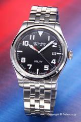 キャサリンハムネット 腕時計 メンズ KH20D7-B39 UTILITY ブラック