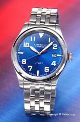 キャサリンハムネット 腕時計 メンズ KH20D7-B69 UTILITY ブルースティール