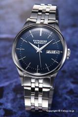 キャサリンハムネット 腕時計 メンズ KH20G5-B64 ENGLISH SLICK ネイビー