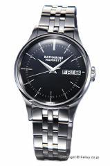 キャサリンハムネット 腕時計 メンズ KH20G5-B34 ENGLISH SLICK ブラック