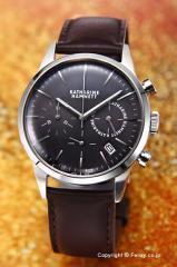 キャサリンハムネット 腕時計 メンズ KH20C5-24 Chronograph VI(クロノグラフ6) グレースティール