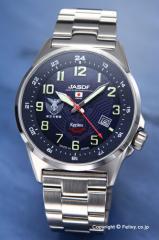 ケンテックス 腕時計 S715M-05 航空自衛隊モデル ネイビーブルー ソーラー