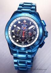 ケンテックス 腕時計 ブルーインパルス・T-4 20周年記念 S720M-02 ソーラークロノグラフ