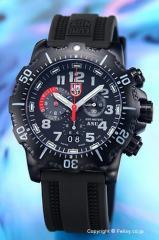 ルミノックス LUMINOX 腕時計 メンズ ANU クロノグラフ  オールブラック 4241