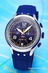 スウォッチ 腕時計 メンズ SWATCH YYS4015 Irony XLITE BLUE FACE (エックス・ライト ブルーフェイス)