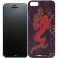 トラック男の【the Kinkazan】 iPhone5/5S ケース(昇竜/パープル)