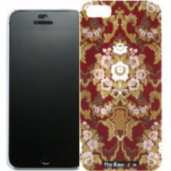 トラック男の【the Kinkazan】 iPhone5/5S ケース(フローラル/レッド)