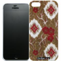 トラック男の【the Kinkazan】 iPhone5/5S ケース(大花束/オレンジ)