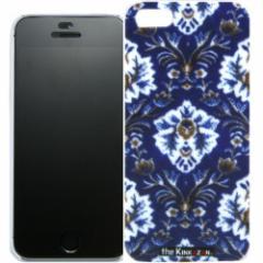 トラック男の【the Kinkazan】 iPhone5/5S ケース(新格子/ブルー)