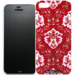 トラック男の【the Kinkazan】 iPhone5/5S ケース(新格子/レッド)
