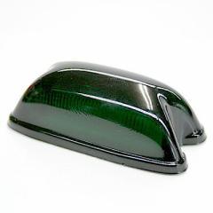 【LO-100角型サイドマーカーランプ用レンズ(ダークグリーン)】