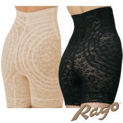 ラゴ(Rago) ハイウエスト渦巻きガードル3分丈