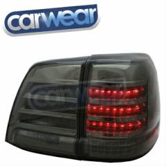 トヨタ ランドクルーザー テールライト TOYOTA LAND CRUISER FJ 200 SERIES 2008-2012 SMOKE LED TAIL LIGHTS