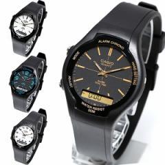 チープカシオ 腕時計 メンズ カシオ CASIO チプカシ デジタル アナログ ウォッチ プチプラ AW-90H 【メール便で送料無料】