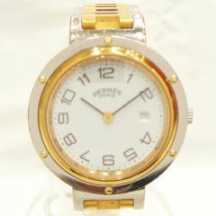 時計 エルメス Hermes クリッパー コンビ ボーイズ 腕時計 クォーツ【中古】