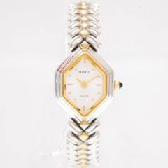 時計 ラドー レディース クォーツ 腕時計 シルバー【中古】